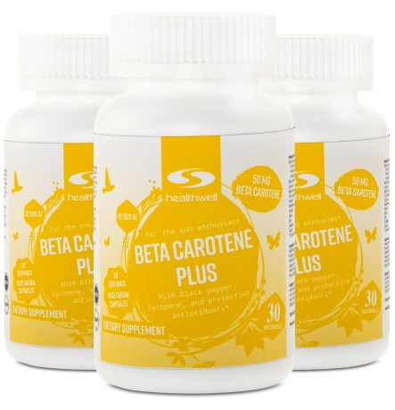 Beta Carotene Plus,  - Healthwell