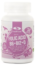 Folic Acid + B6 + B12 + D