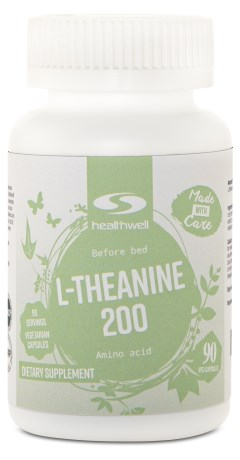 L-theanine 200,  - Healthwell