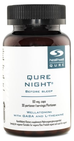 QURE Night,  - Healthwell QURE