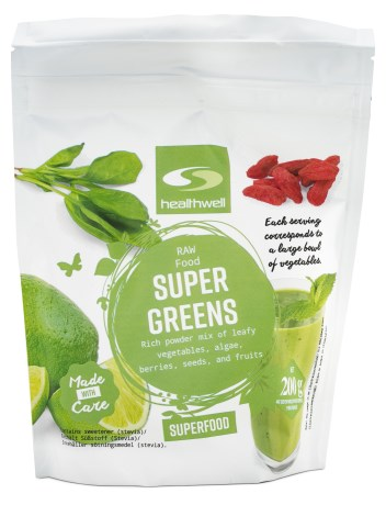 Super Greens,  - Healthwell