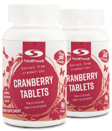 Cranberry Tablets,  - Healthwell