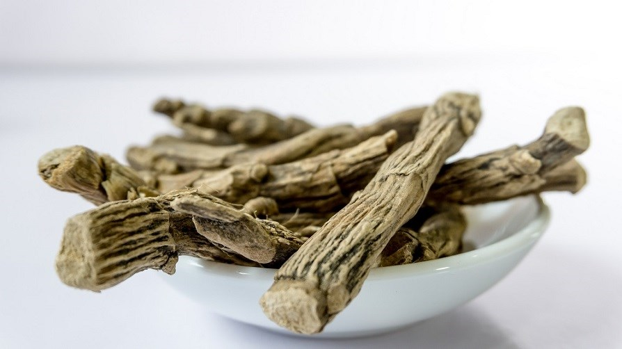 Picture of what ashwagandha root looks like.