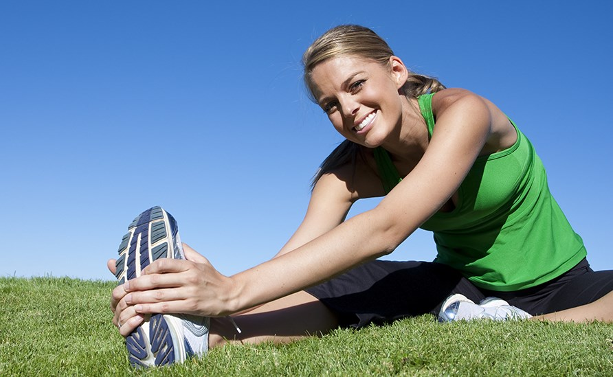 Keep your body young with physical activity.