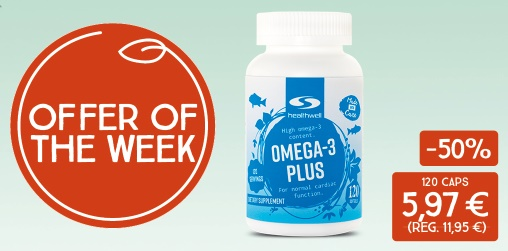 Offer of the week! Omega-3 Plus -50%